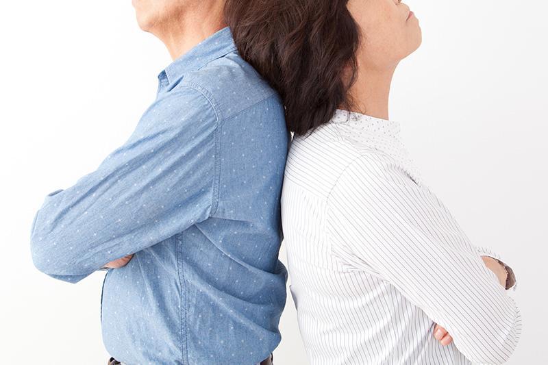 熟年離婚の特徴